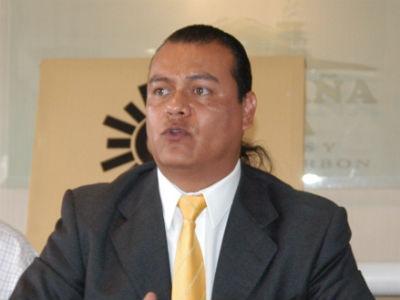 Juan Zepeda. Alcalde de Neza.