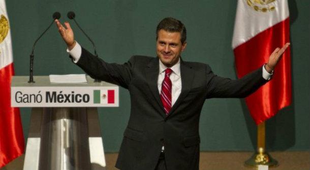 Peña Nieto. Transmisión de poderes.