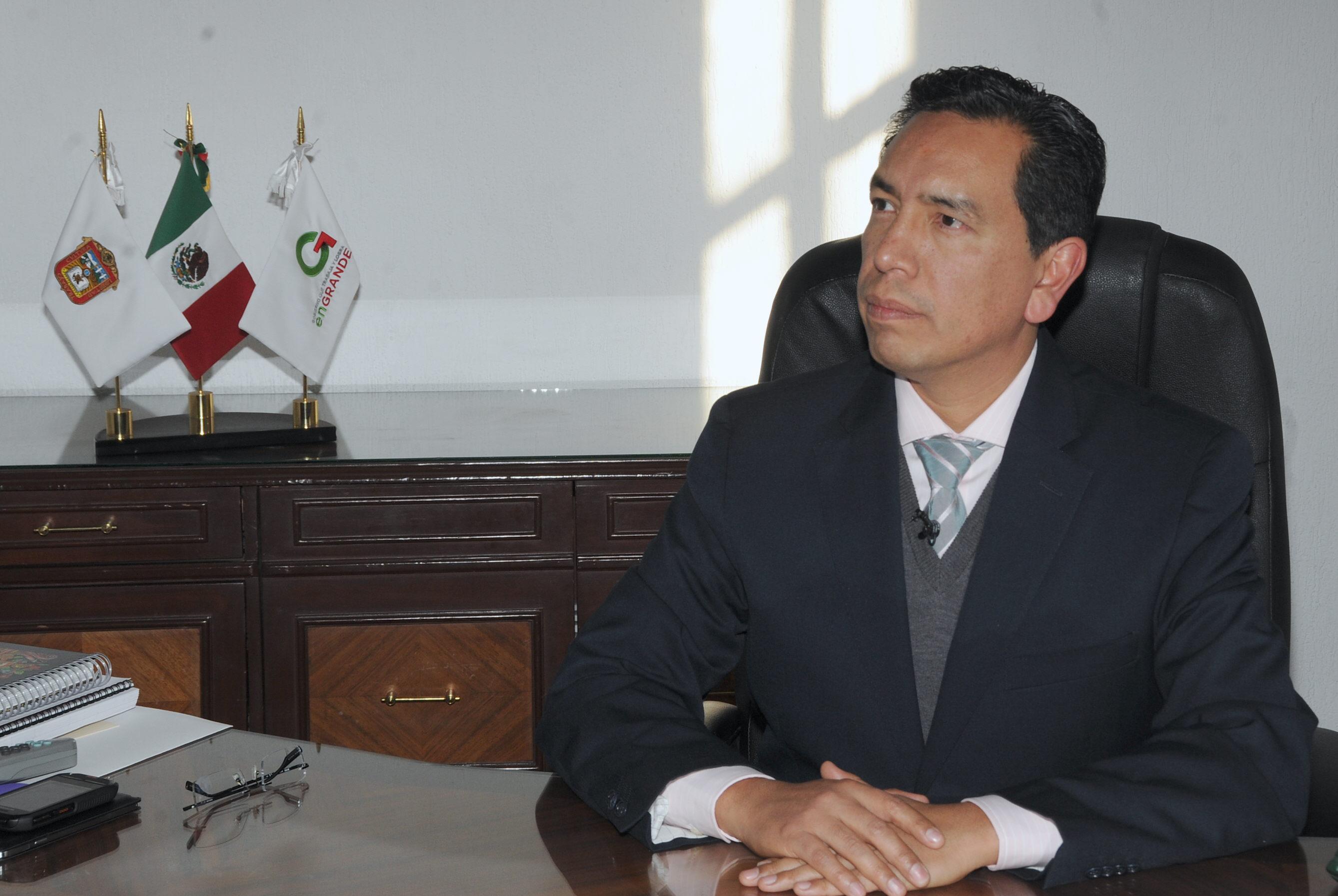 Indalecio Ríos. El vocero.