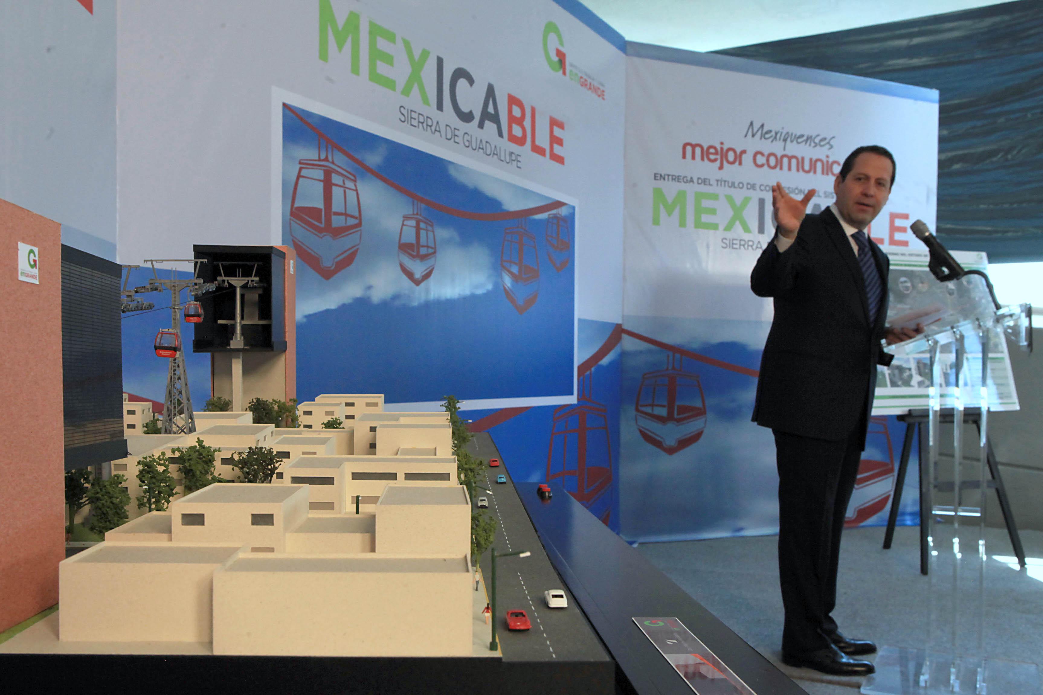 Mexicable. El teleférico de Ecatepec.
