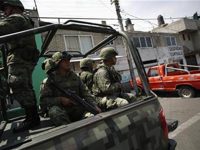 Fuerzas federales. Operativo de seguridad.