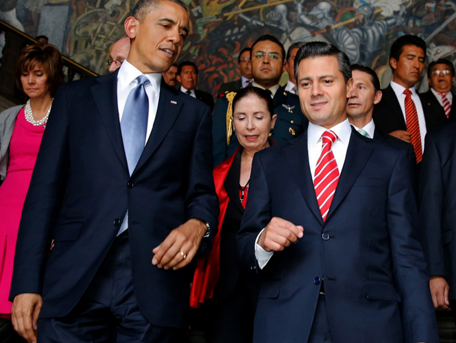 Peña Nieto y Obama. Encuentro bilateral.