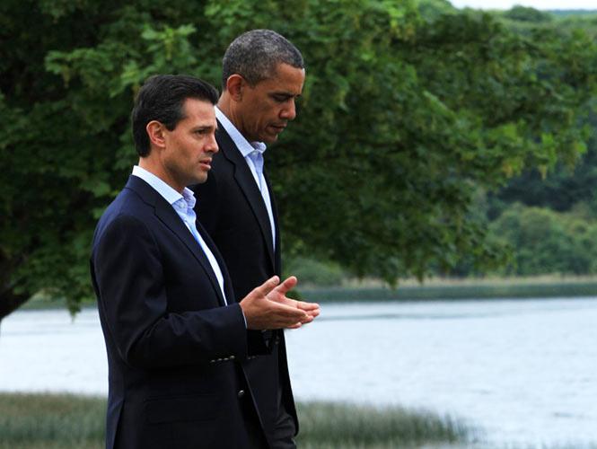 Peña y Obama. El encuentro.