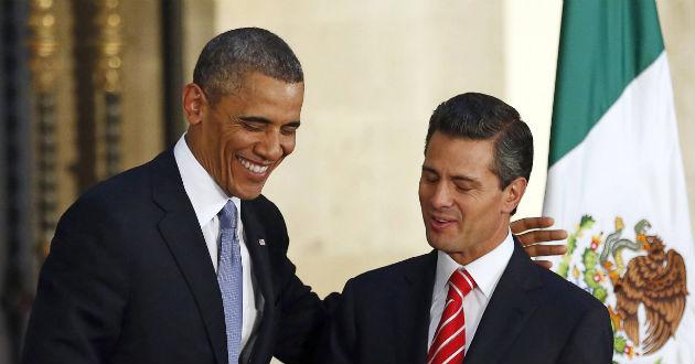 Encuentro Peña y Obama. Alteraciones.