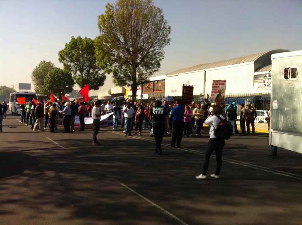 Protestas aisladas. La contención.