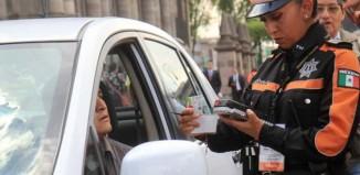 Agentes de tránsito. Infracciones.