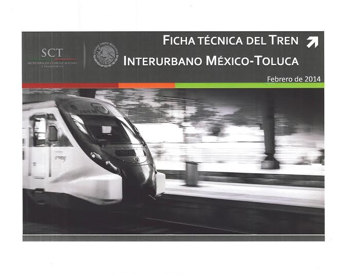 Tren México - Toluca. Avanza licitación.