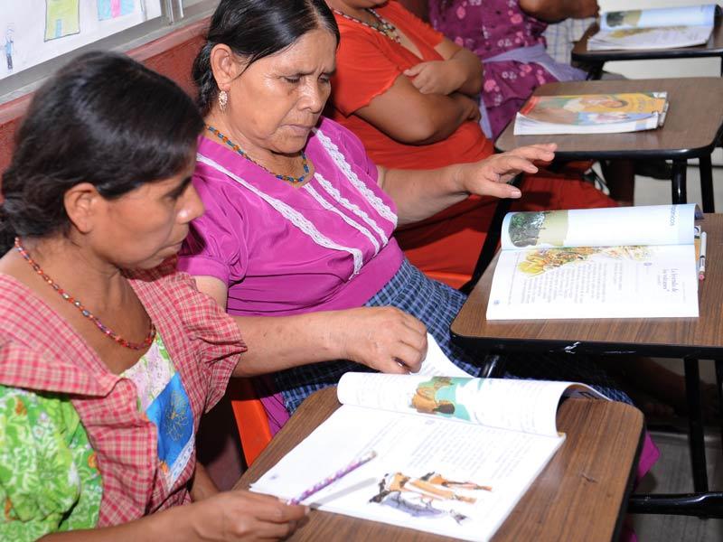 Analfabetismo. Zonas rurales.