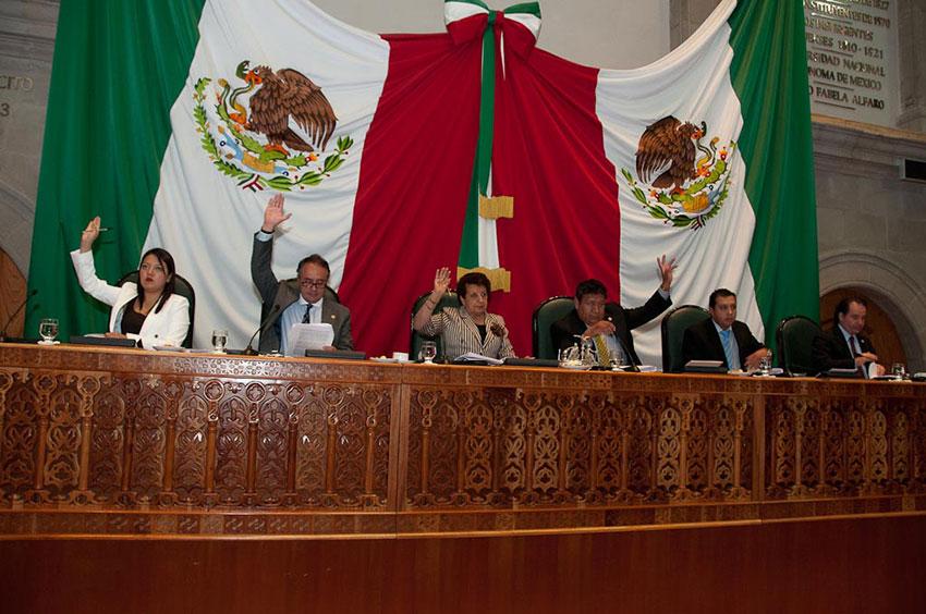 Legislatura mexiquense. Cambios al Código Civil.