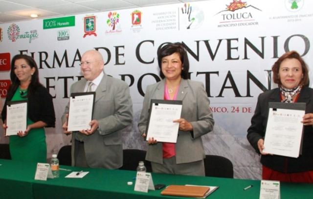 Alcaldesas del Valle de Toluca. Coordinación metropolitana.