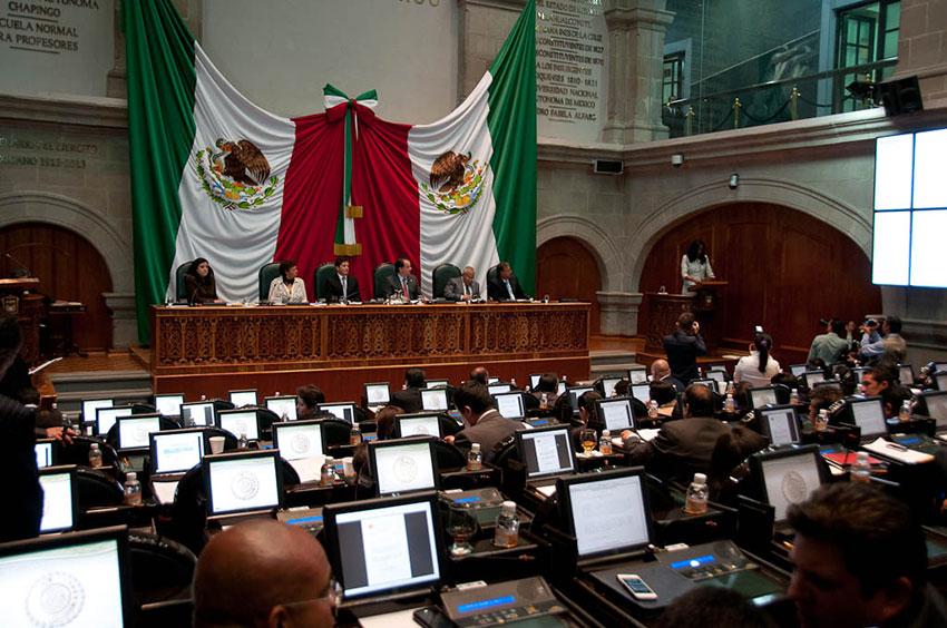 Legislatura mexiquense. Reformas.