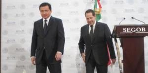 Eruviel y Osorio Chong. Foto archivo.