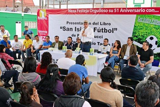 Torneo de futbol y literatura. Fomento cultural.