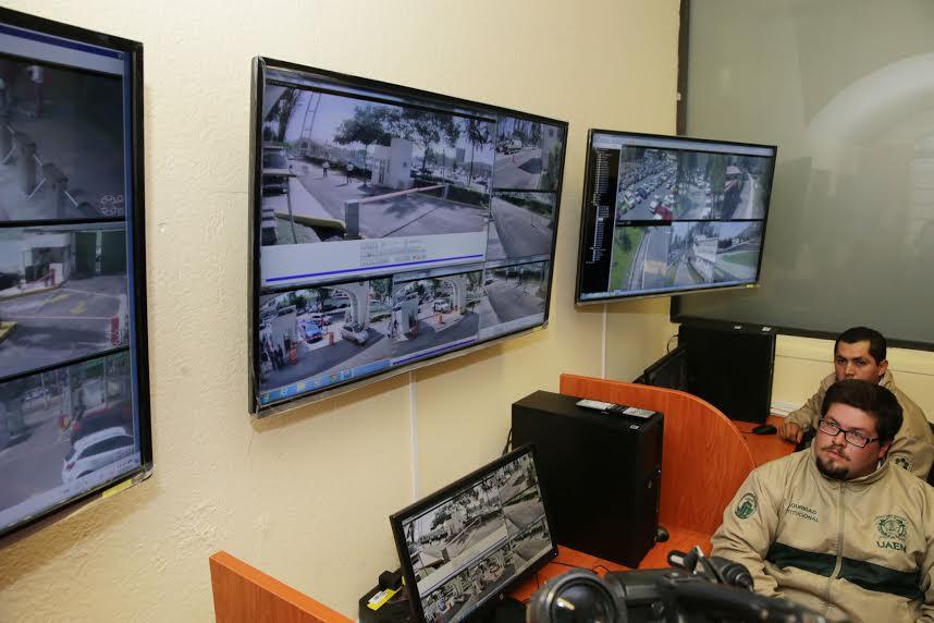 Videovigilancia en CU. Seguridad universitaria.