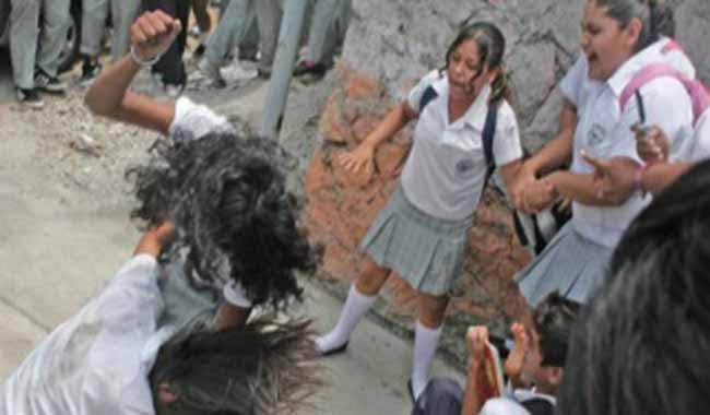 Bullying escolar. Menor víctima.