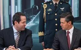 Eruviel y Peña Nieto. Foto archivo.