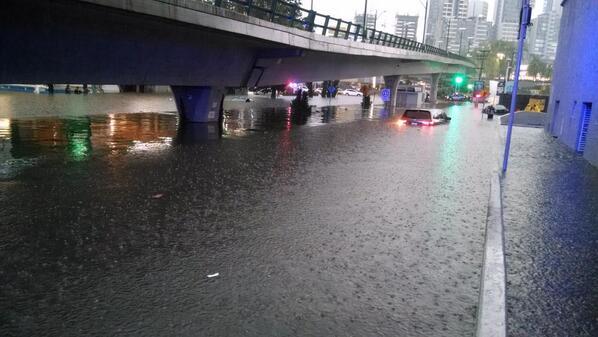 Interlomas. Inundaciones.