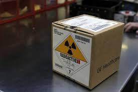 Material radioactivo. Robo.