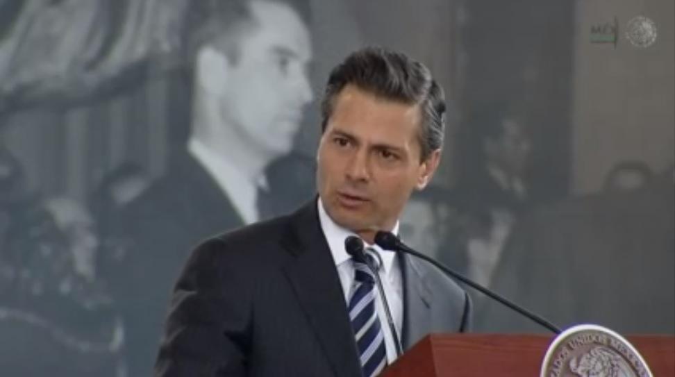 Enrique Peña. De vuelta en Atlacomulco.