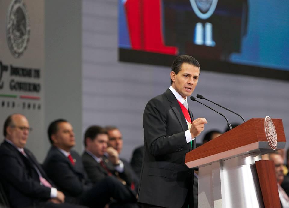 Peña Nieto. Informe de gobierno.