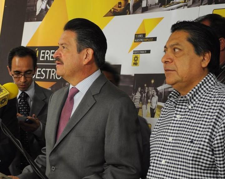 Carlos Navarrete y Héctor Bautista. La nueva dirigencia.