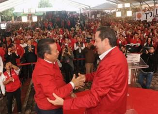 Eruviel Ávila y César Camacho. Preparan elecciones.
