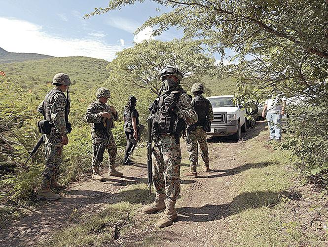 Fosas en Iguala. Mexiquenses desaparecidos.