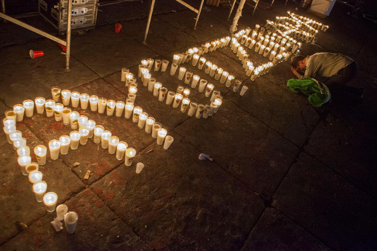Xochicuatla. La ausencia de los normalistas de Ayotzinapa.