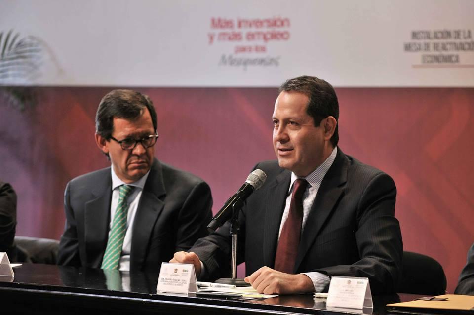 Eruviel Ávila y Roberto Campa. Prevención de la violencia.