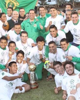 Potros UAEM. Campeón Segunda División.