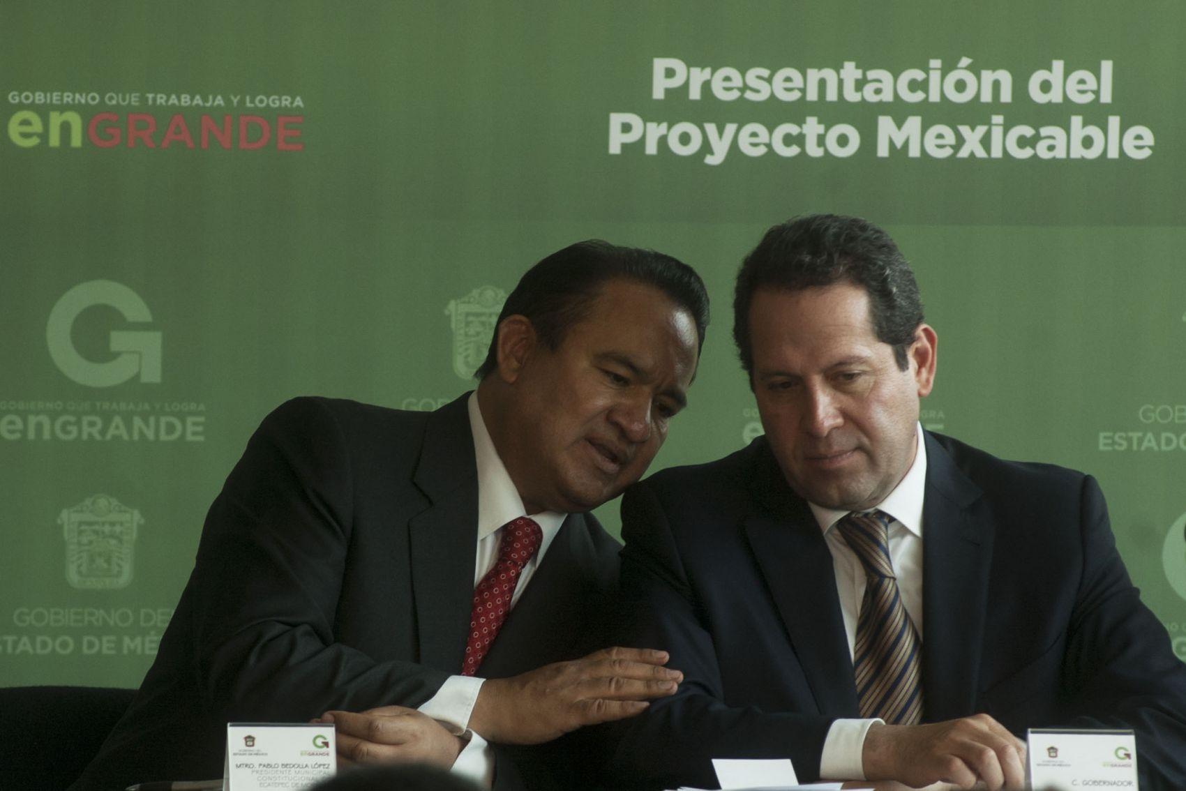 Eruviel Ávila y Pablo Bedolla. Acomodos electorales. Foto Agencia MVT.