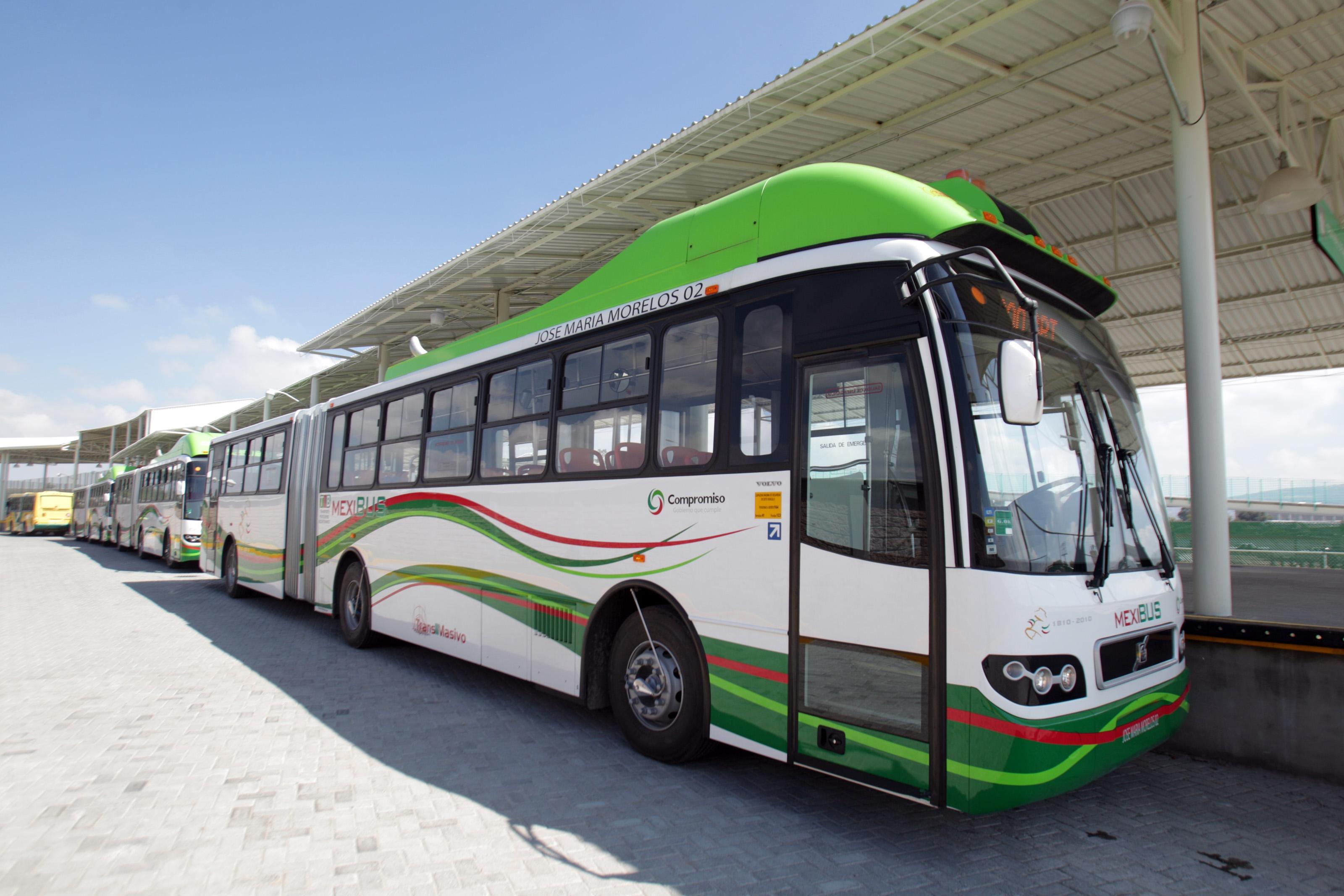 Mexibus opera en EdoMex.
