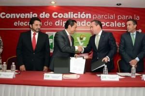 Eduardo Bernal y Carlos Iriarte. La impugnación electoral. Foto Especial.