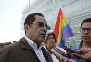 Israfil Filos. Lucha por los grupos vulnerables. Foto Agencia MVT.