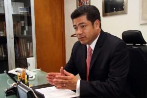 Miguel Sámano. Abandona al PVEM por el PRI. Foto Agencia MVT.
