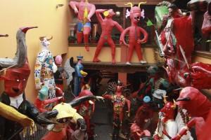 Llegan los Judas al Museo Taller Luis Nishizawa (Foto: Agencia MVT)