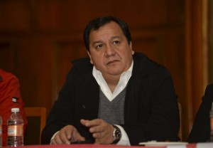 Óscar González. Artífice de la alianza con el PAN. Foto Agencia MVT.
