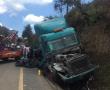 Embiste tráiler a once vehículos en carretera México – Toluca; afecta tránsito vial