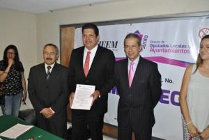 David López. Futuro alcalde de Metepec. Foto Especial.