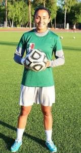 Rosaura Gallegos. De Tenancingo a la Selección Nacional. Foto Especial.