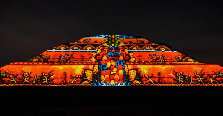 Show de luz y sonido en teotihuac n a partir del pr ximo for Espectaculo de luz y sonido en teotihuacan