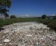 Inunda basura unión del río Verdiguel con el Lerma; aguas amenazan con desbordarse