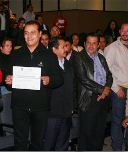 Zepeda, Sánchez, Del la Rosa y Ortega, en 2012
