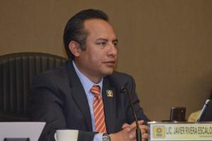 Javier Rivera, representante del PRD ante el IEEM Foto: Agencia MVT