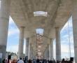 Constructoras del Tren México-Toluca siguen sin pagar a trabajadores de la obra