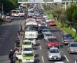 Con bloqueo, transportistas exigen rescatar la zona de la Terminal de Autobuses de Toluca