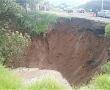 Estará cerrada dos días la carretera federal Toluca-Naucalpan por socavón
