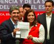 Se registran Nemer y Alvarado a la presidencia y secretaría general del PRI-Edomex